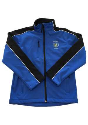 Tangaroa College Softshell Jacket Royal/Black/White Piping